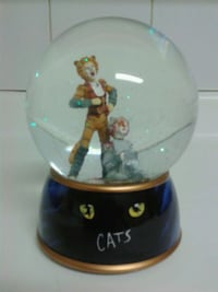 CATS the musical Glitter Globe Toronto, M8W 3T9