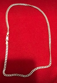 silver chain-link necklace Calgary, T3J 3A7