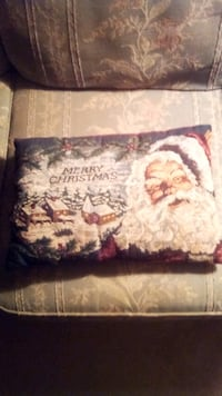 Antique Christmas pillow