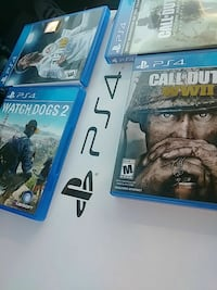 Ps4 slim 1T with 4 games 250 asap