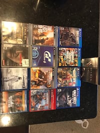 PS4, PS3 games and blue ray movies Columbia, 21044