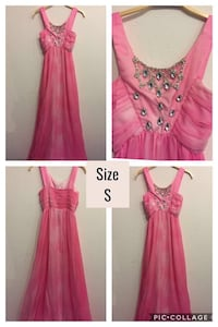 Maxi dress in pink with jewels  Munich, 80804