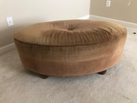 Oval Tufted Cocktail Ottoman  Upper Marlboro, 20772
