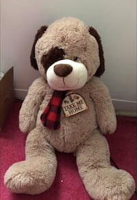 brown and black life-size dog plush toy New Britain, 06053