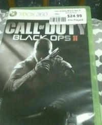 Call of Duty Black Ops 2 Xbox 360 game case North Platte, 69101