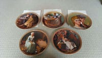 Norman Rockwell plates 3811 km