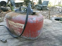 Evjnrude gas can. It's old I'm not sure how old.  Rogue River, 97537