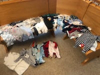 Baby boy clothes 0-3 months (about 50 items) Bristow, 20136