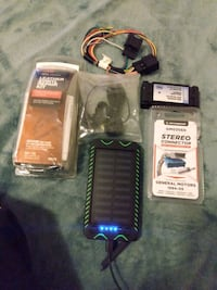 Leather and vinyl kit.smart harness.usb boxsoundhorn.for All $20 Houston, 77073