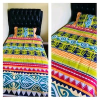 Single/Twin Cotton Bed sheet