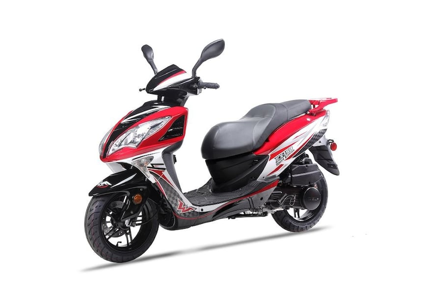 WOLF SCOOTER EX-150 SPORT 2019 6