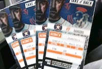 4 tickets together tonight's game !!!!! Katy, 77449