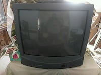 black CRT TV with remote Manassas, 20111