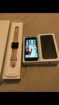 space gray iPhone 7 plus and 3 series watch Beaumont, 77708