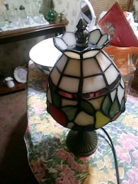 white and brown tiffany table lamp Orange Park, 32073