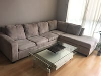 Corner pull out sofa. Washable covers. 107 x 83.5  H 36 Mississauga, L5B 3Z9