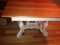 Shabby Chic/Farmhouse type table, desk, or island, entry way table. Original price was 600, paid 350. Great piece!