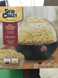 Stir Crazy Popcorn Popper - used only once
