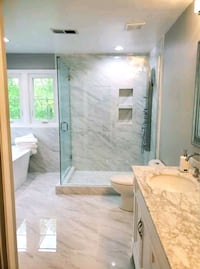 frameless showerdoors Manassas