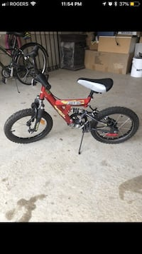 Kids bike for sale (black and red) 534 km
