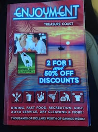 Where to buy treasure coast enjoyment book