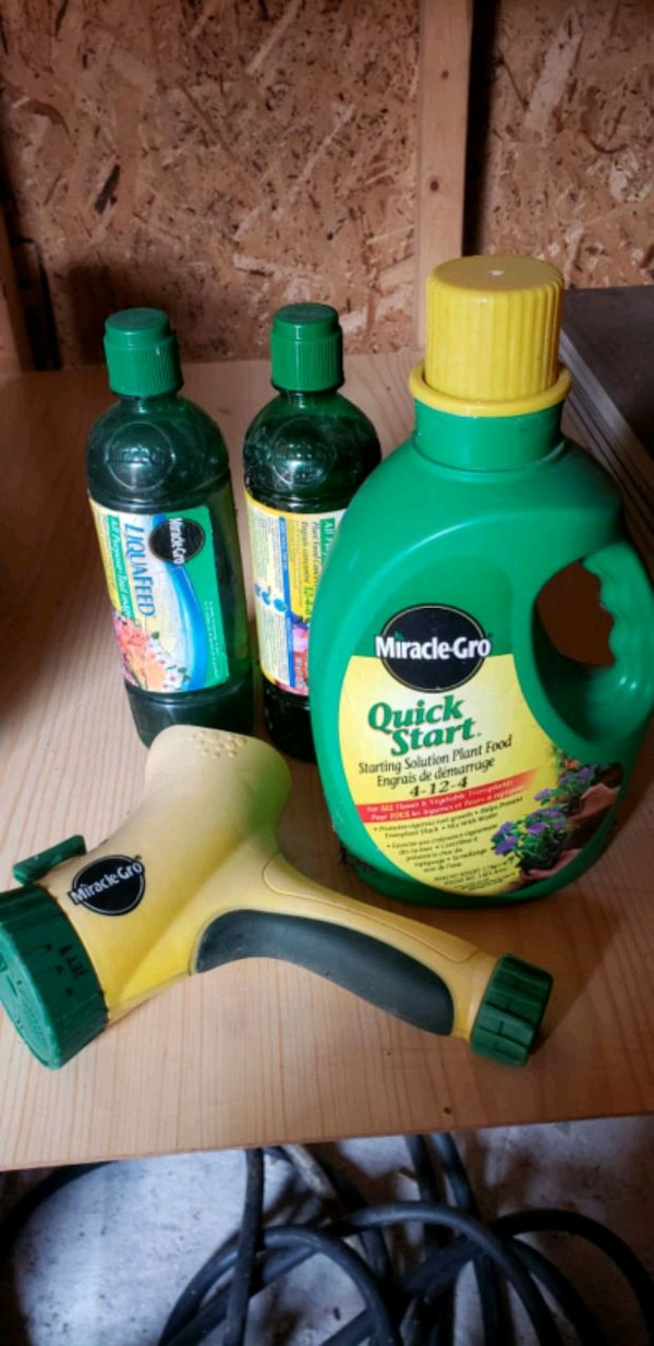 Miracle Grow products +