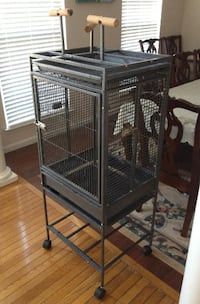 BIRD CAGE WITH PLAY TOP Laurel