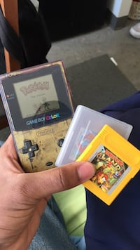 Gameboy color with 3 games Toronto, M9W 7K4