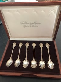 The Sovereign Queens Spoon Collection (Franklin Mint) Toronto, M3A