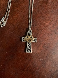 Claddagh Cross Necklace