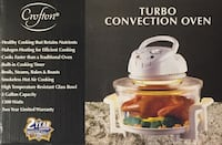 Turbo Convection Tabletop oven /airgrill Lanham, 20706