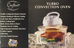 Turbo Convection Oven (tabletop)