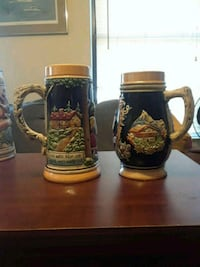 Antique Stein set of 2 894 mi