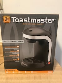 Brand new never been used Toastmaster Single Serve Brewer (pick up only) Alexandria, 22310
