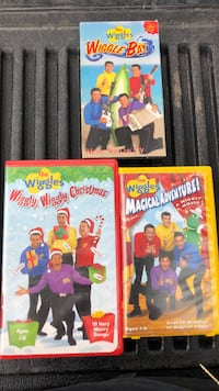 The wiggles vhs tapes Millersville, 21108