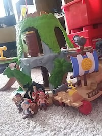 Jack and the pirates of Neverland toy set