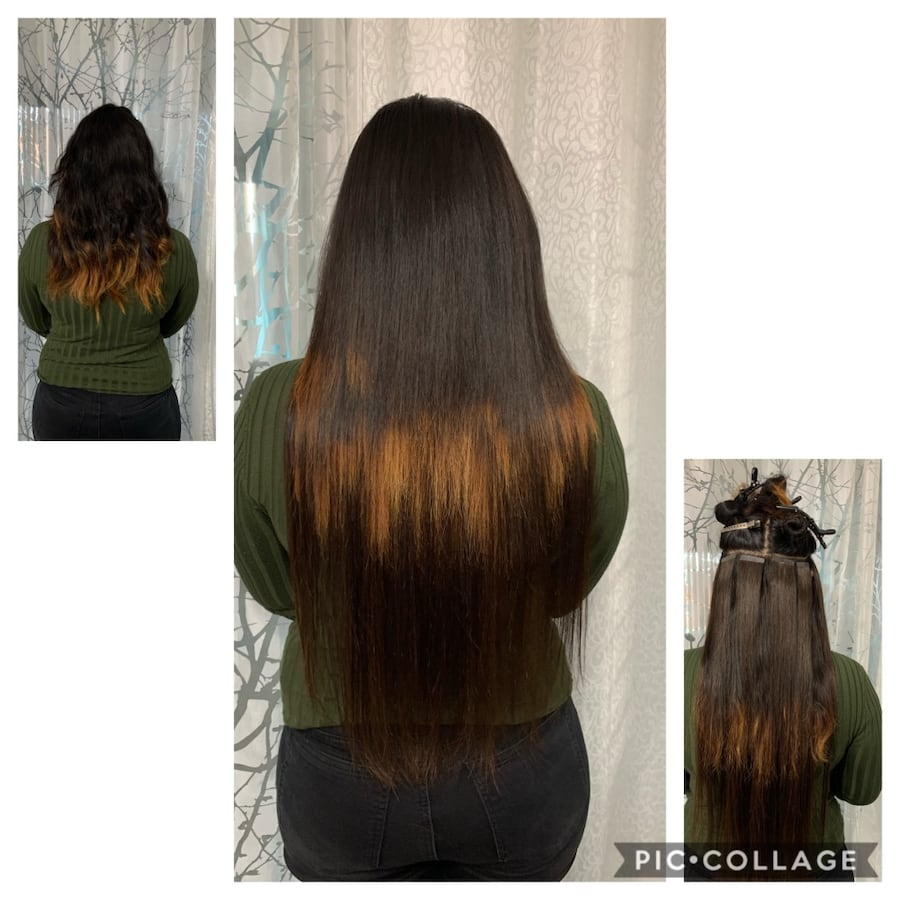 Hair extensions tap in or microbeads and Nail tip and Nano beads 1c3bfe89-5030-4be9-90ee-236ac44ad2d0