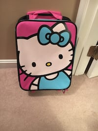 Blue and pink Hello Kitty carry-on luggage Germantown, 20876