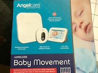 """Angelcare AC417 Baby Breathing & Video Monitor Angelcare Baby Breathing & Movement Monitor with 4.3"""" Touchscreen Display and Wireless Sensor Pad. Bethesda, 20814"""