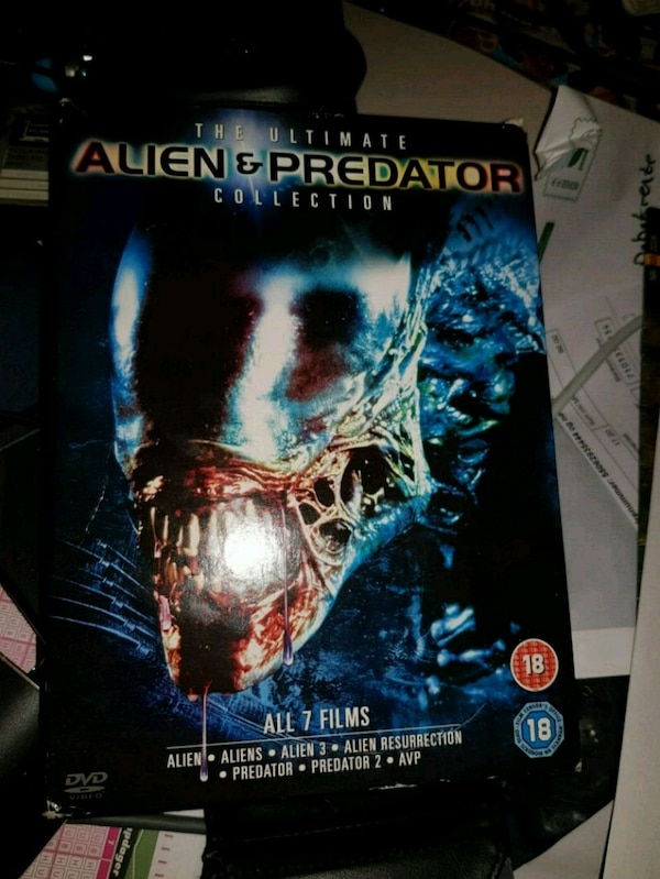 The ultimate Alien & Predator collection DVD