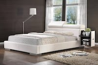 Coaster Contemporary Queen Bed with Silver Finish 300379Q - $299 (MISSOURI CITY) Missouri City