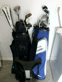 2 sets of RH golf clubs and cart Guelph, N1E 0J5