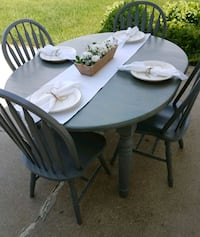 Farmhouse table and chairs. Ankeny, 50021