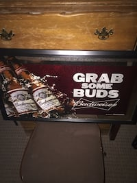 Grab Some Buds budweiser signage 325 mi