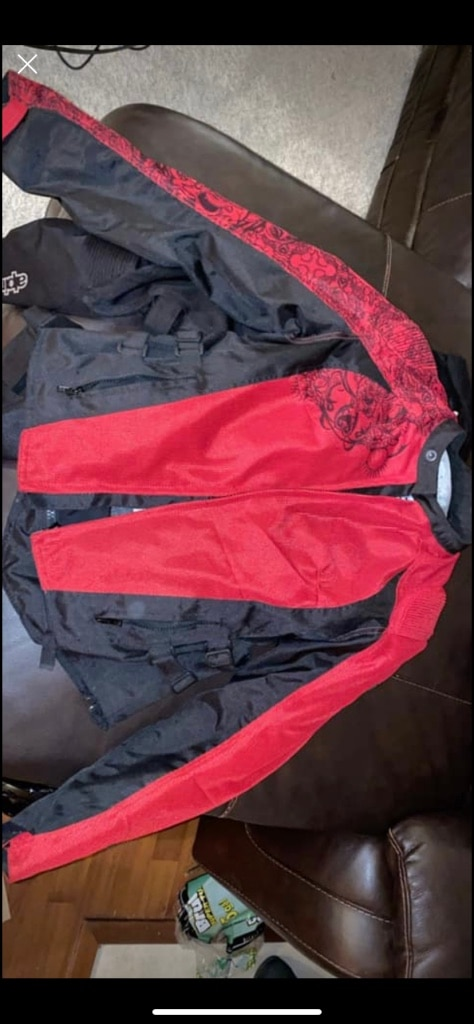 Photo Speed and strength riding jacket small