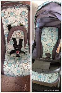teal, white, and gray car seat carrier collage Milton, L9T 7X6