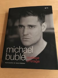 Michael Buble onstage offstage book.  Toronto, M6L 1L1