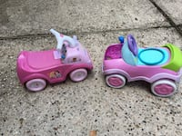 pink and purple ride on toy car North Richland Hills, 76182
