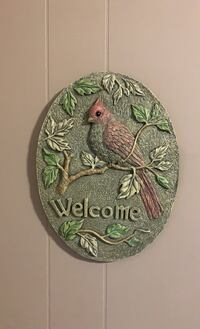 Bird welcome sign Moncton, E1A 4E6