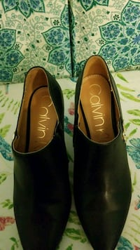 pair of black leather flats Greenbelt, 20770